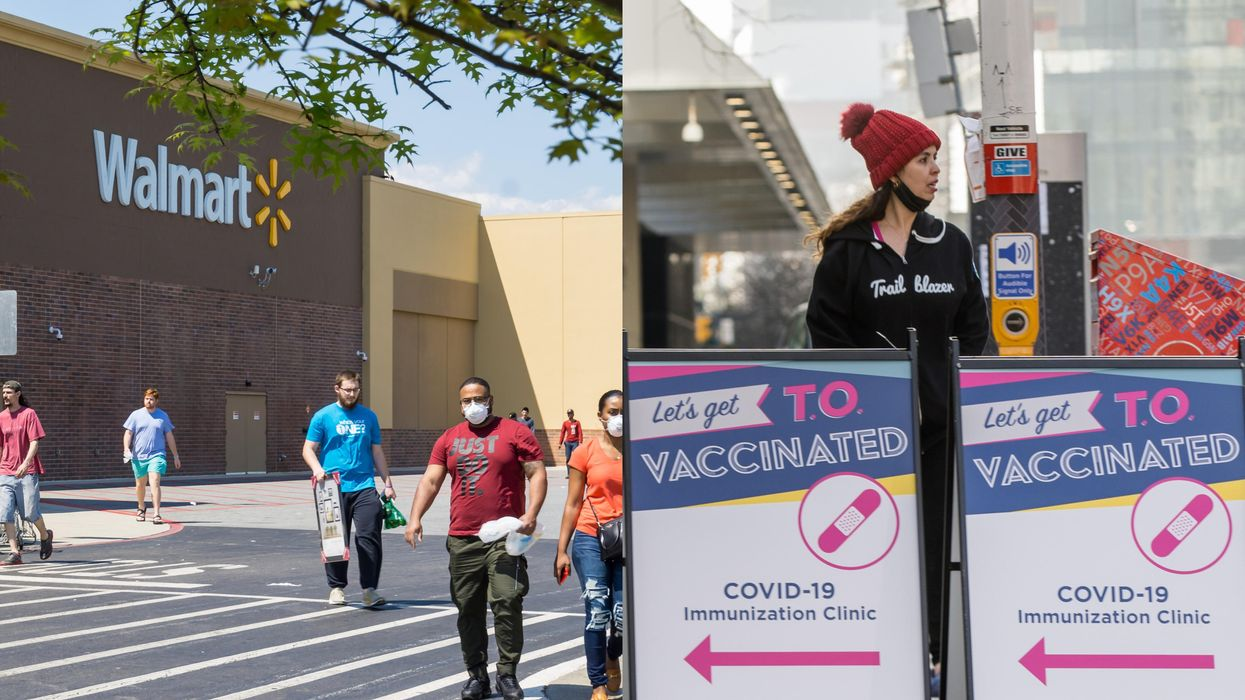 Air Canada, Walmart & More Are Now Setting Up COVID-19 Vaccine Clinics In Ontario