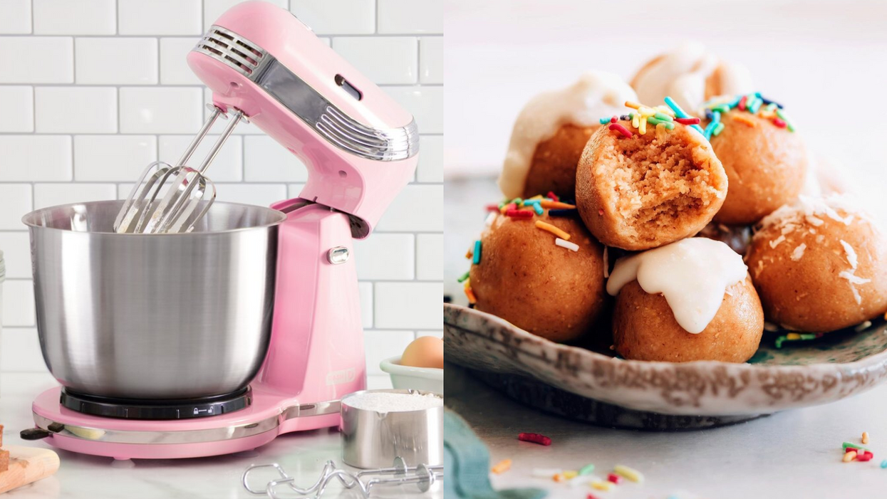You Can Get This Super Cute Pink Stand Mixer At Indigo For Under $100