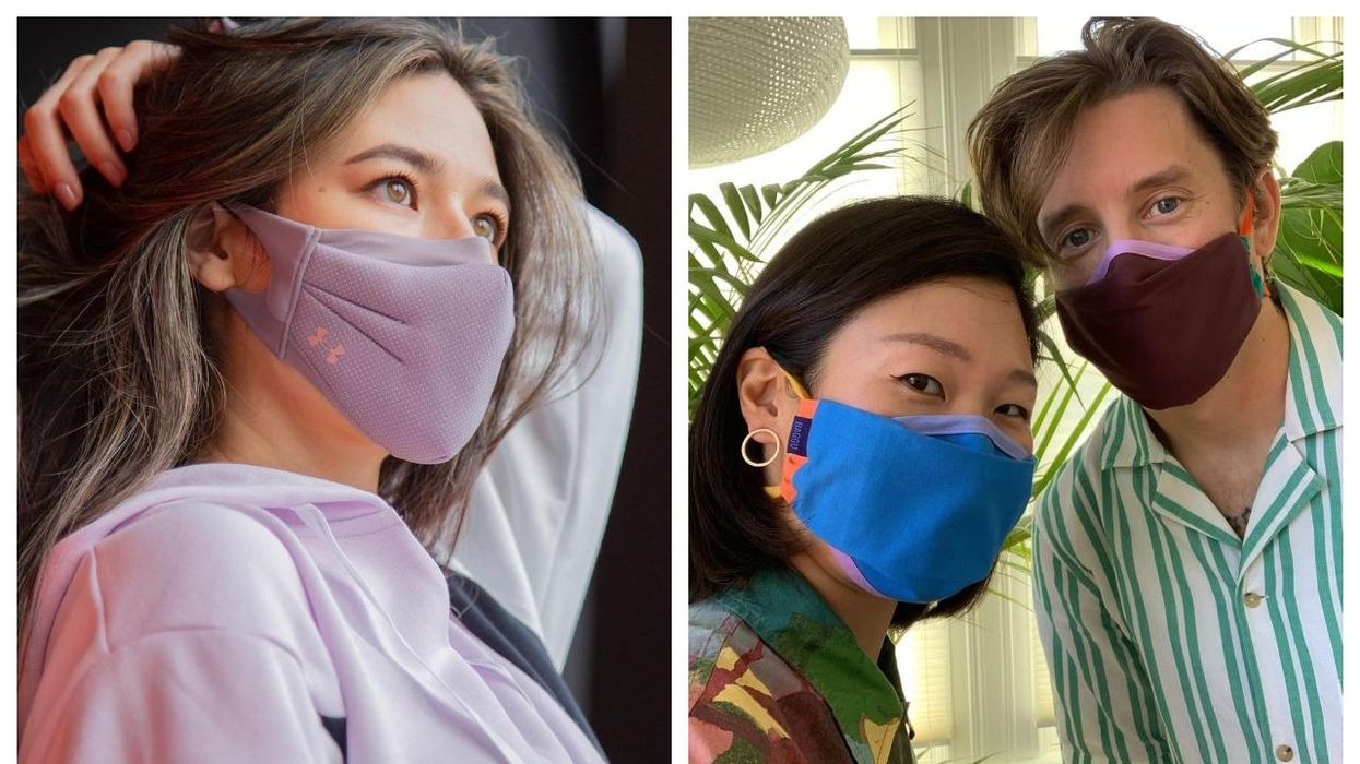 7 Cooling Masks You Can Wear This Summer So You Don't Sweat Your Face Off