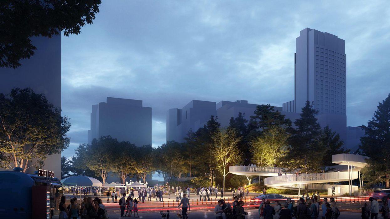 Une nouvelle forêt urbaine sera aménagée dans le Quartier des spectacles à Montréal