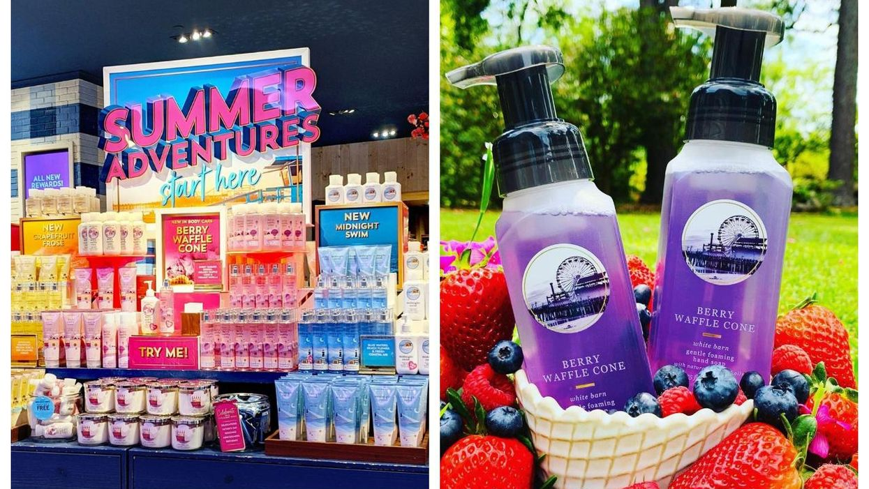 Bath & Body Works Canada Dropped Their New Summer Collection & It's So Dreamy
