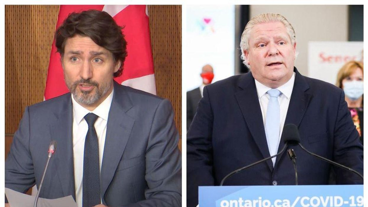 Doug Ford & Justin Trudeau Are Butting Heads Again & Here's Why