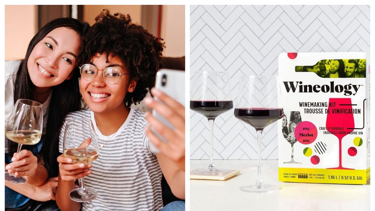 This DIY Wine Kit Lets You Make Your Own Merlot, Pinot Grigio & Rosé At Home