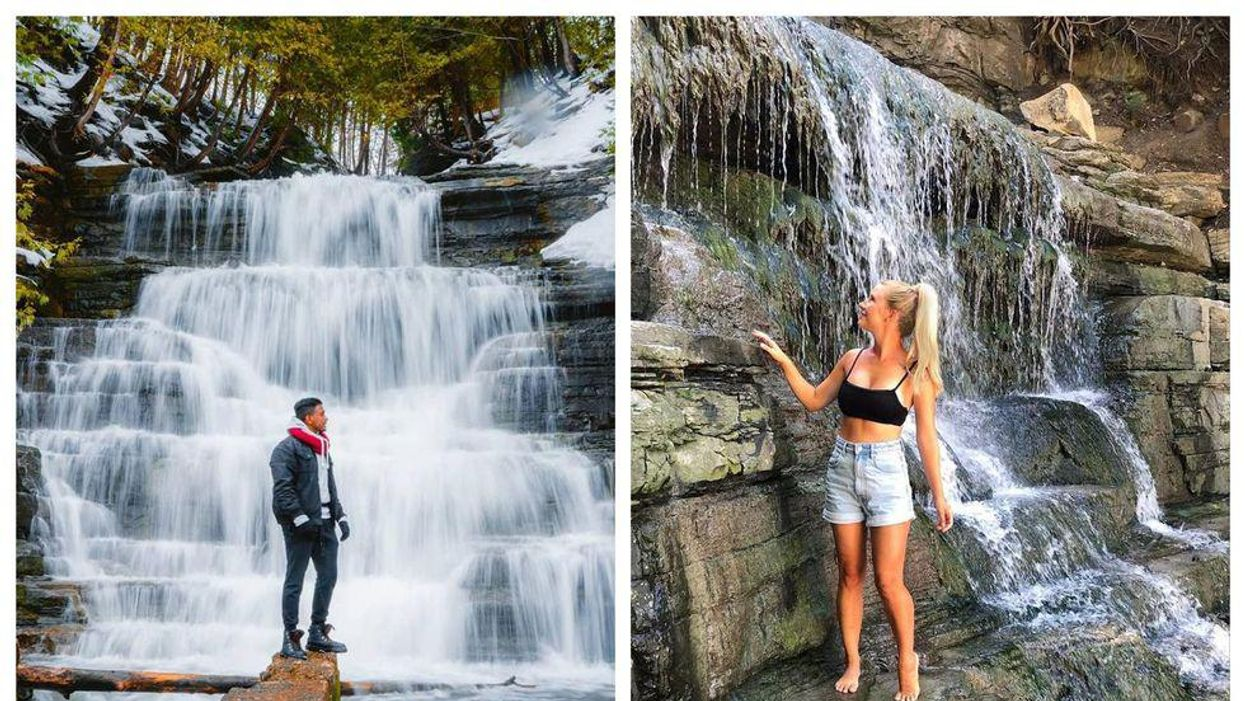 Here's Where To Find Princess Louise Falls In Ottawa