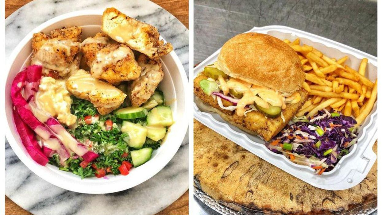Toronto's New Vegan Fried Chicken Joint Just Opened & It's Already So Popular