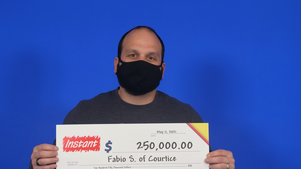 Ontario Man Wins $250K With A Lotto Ticket He Was Given For His Birthday