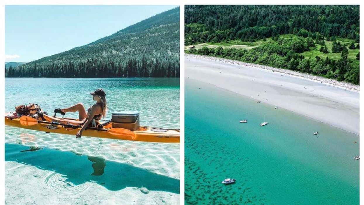 8 Spots In BC So Tropical They're Better Than A Trip To Mexico