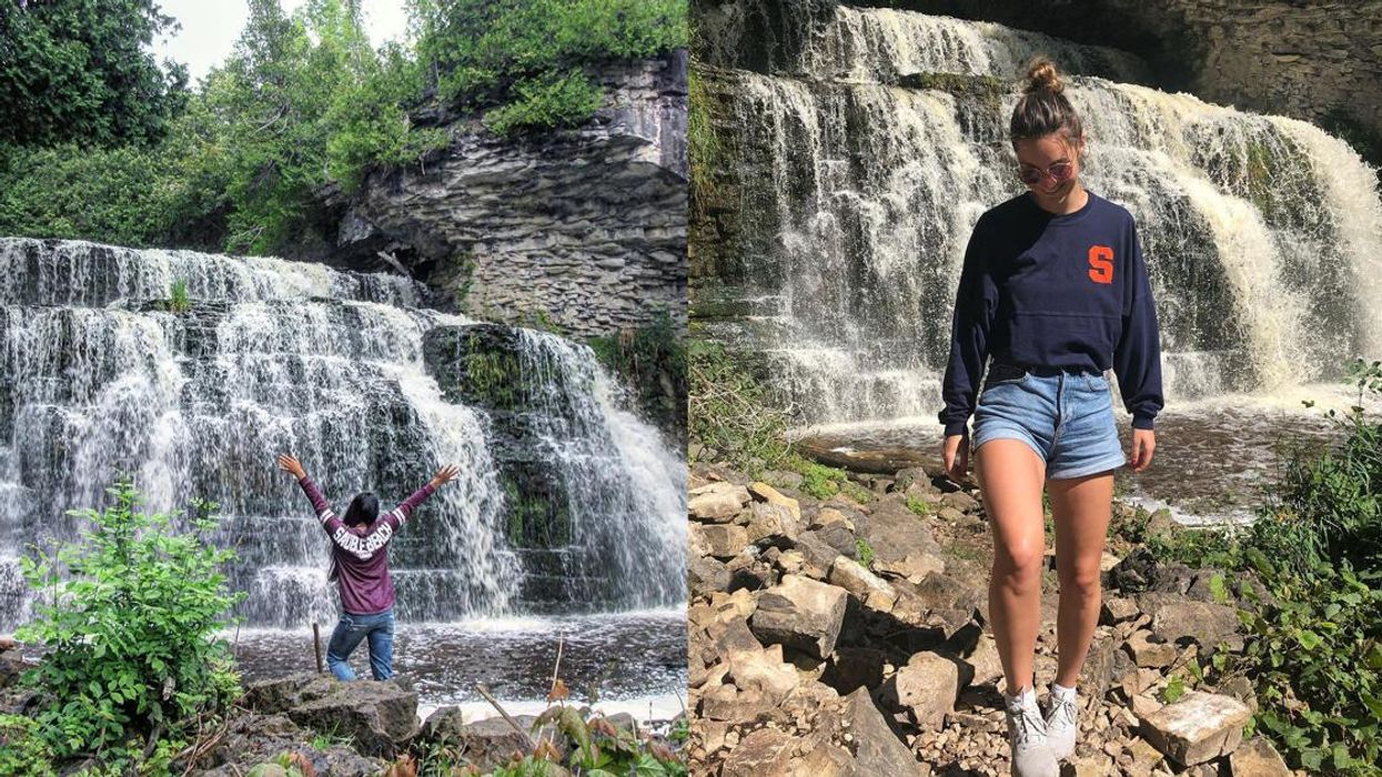 Ontario Waterfall Trail Is Only 0.5-km Long To A Breathtaking Cascade