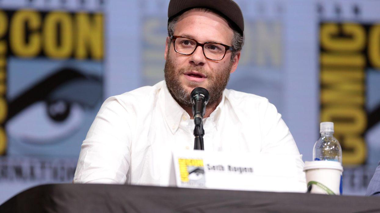 Photo of Seth Rogen at Comic Con 2017
