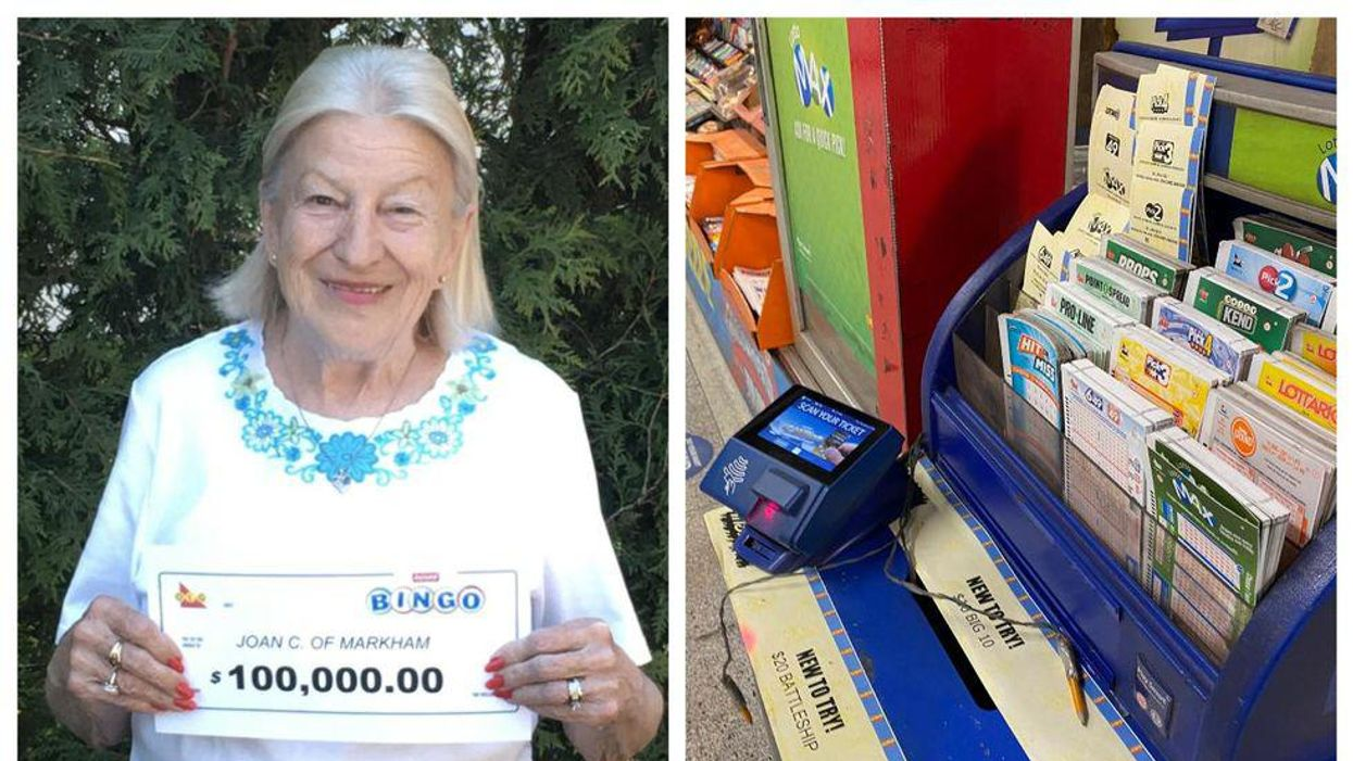 An Ontario Woman Just Won The Lottery For The Second Time In Only A Few Years