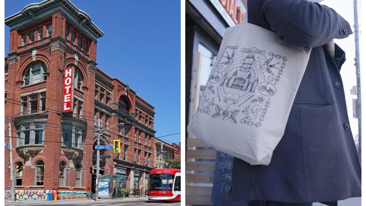 Local Artists Create Tote Bags Featuring 5 Toronto Neighbourhoods