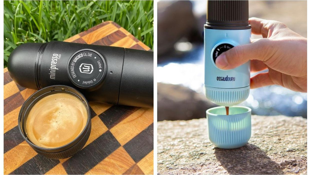 This Portable Espresso Machine Would Make An Awesome Father's Day Gift And It's Only $75