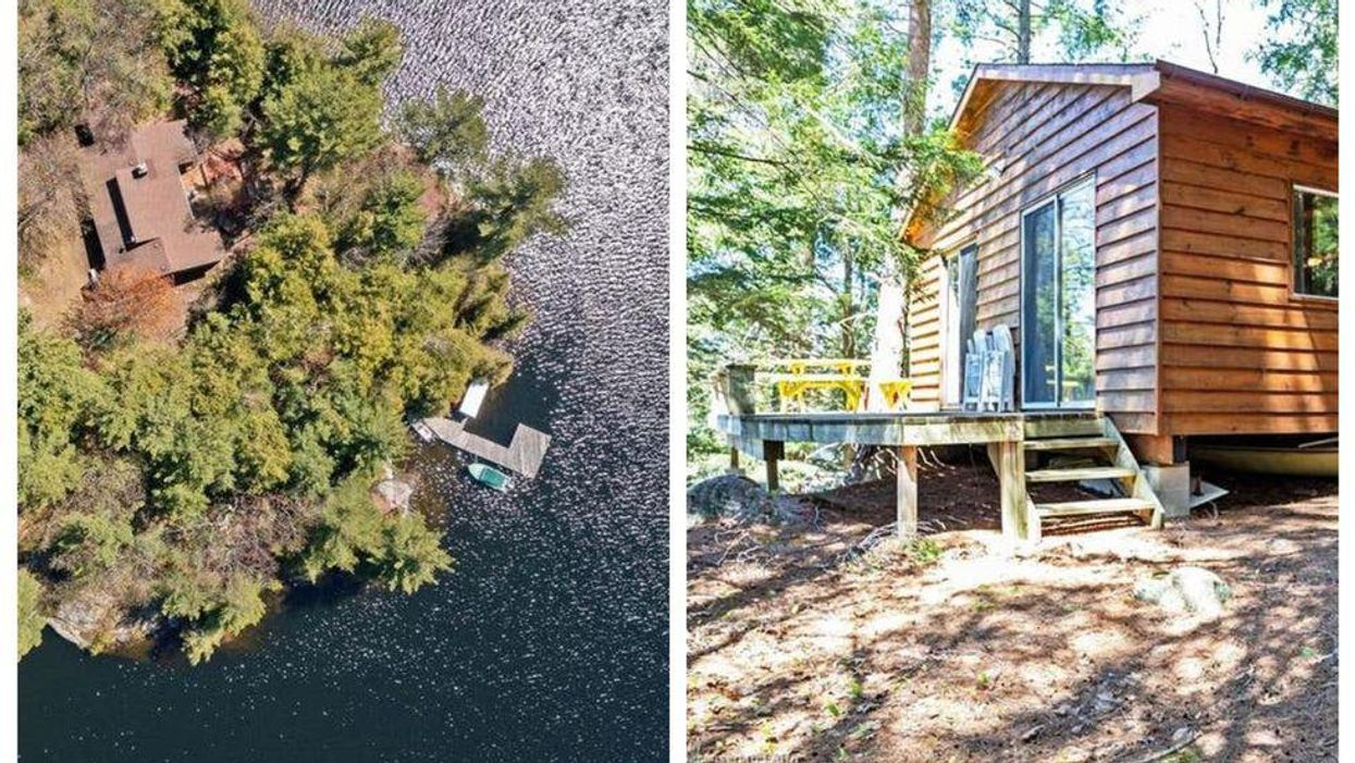 Ontario Private Island For Sale Is An Actual Paradise & Cheaper Than Some Toronto Condos