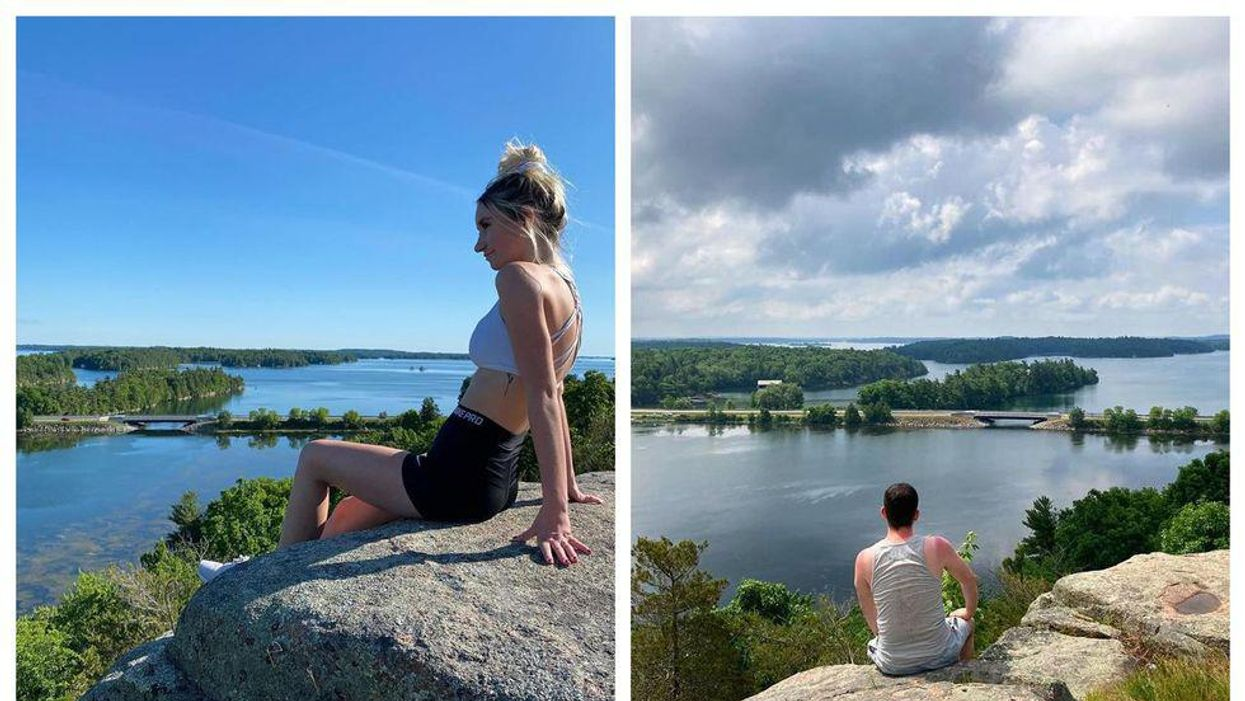 Hiking Trail In Ontario Takes You To An Epic Blue Bay Lookout