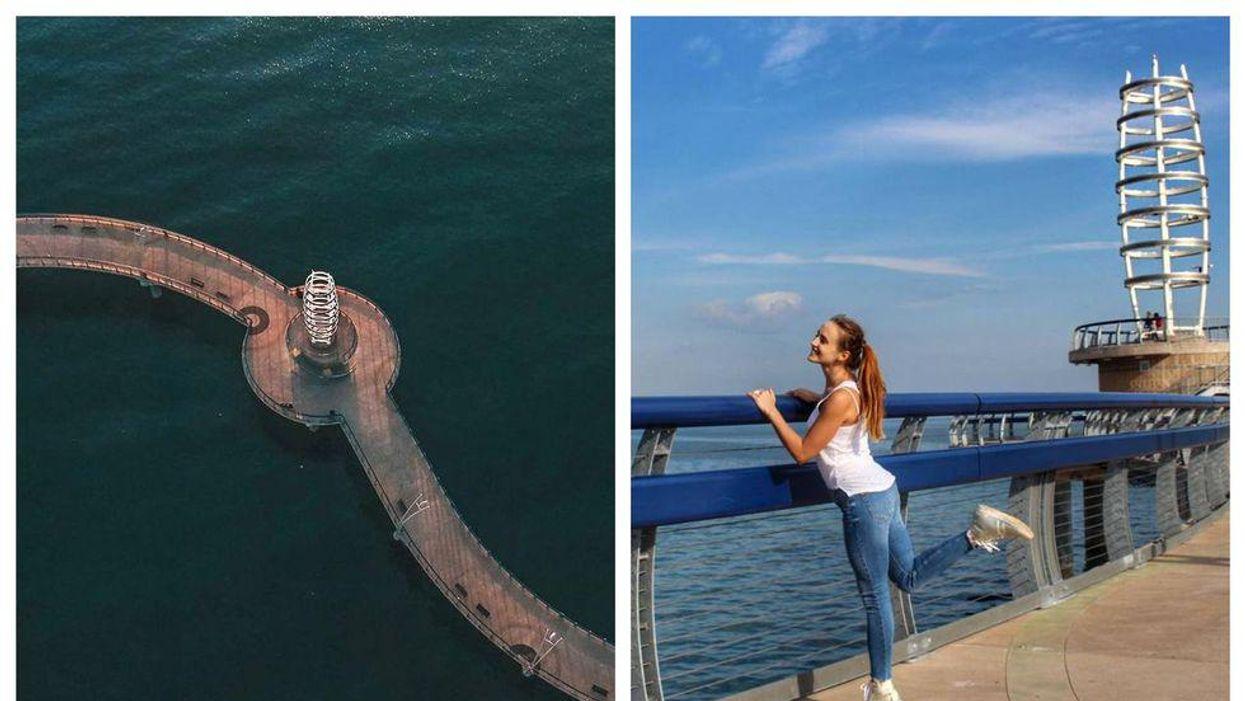Burlington Has Giant Pier Where You Can Wander Over Lake Ontario