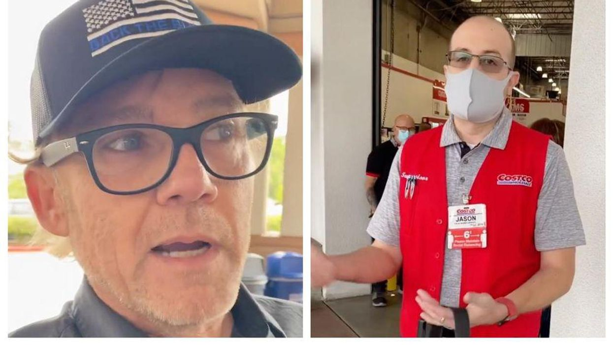 Ricky Schroder Went Viral After Harassing Costco Staff (VIDEO)