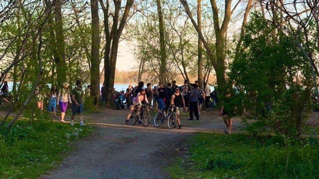 A Huge Dance Party Took Over Cherry Beach On The Weekend (VIDEO)