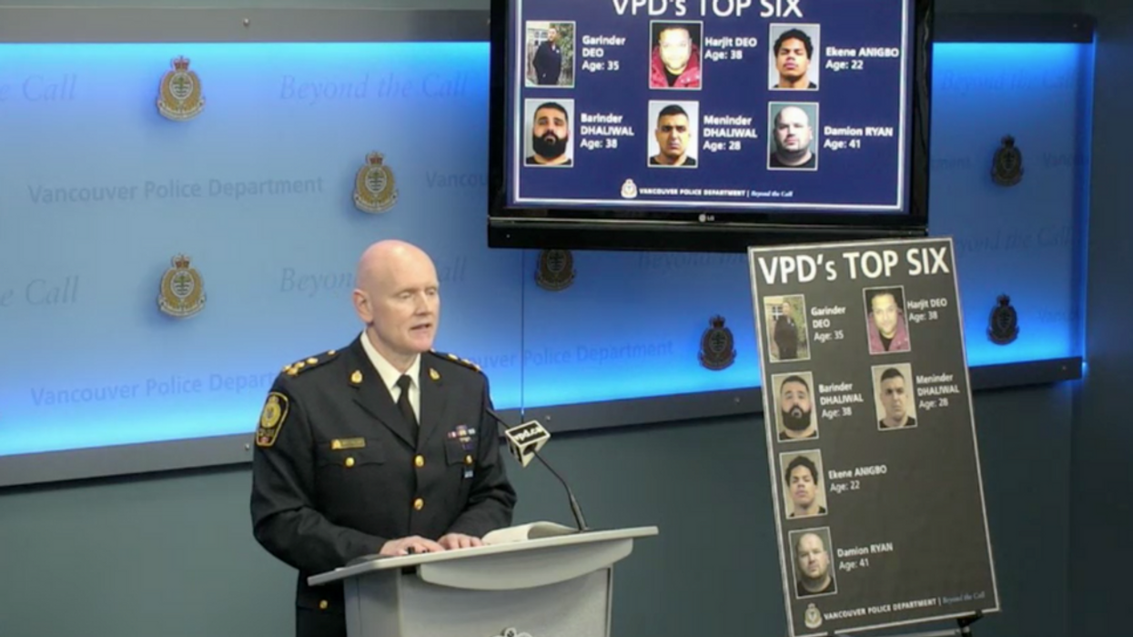 Vancouver Police Say These 6 'Dangerous Gangsters' Pose A Serious Risk To Public Safety