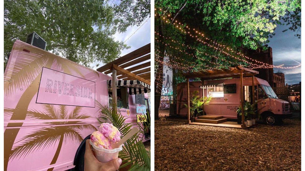 Ce camion de crème glacée rose à St-Henri est LE spot le plus cute de l'été