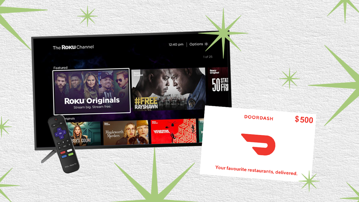 Roku And DoorDash Are Giving Away The Ultimate Movie-Night Experience & Here's How To Enter