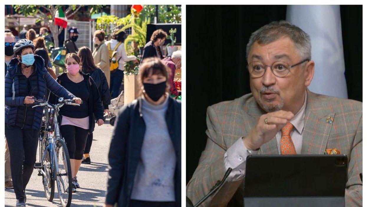 Ce que tu dois savoir sur la fin du masque obligatoire qui s'en vient au Québec