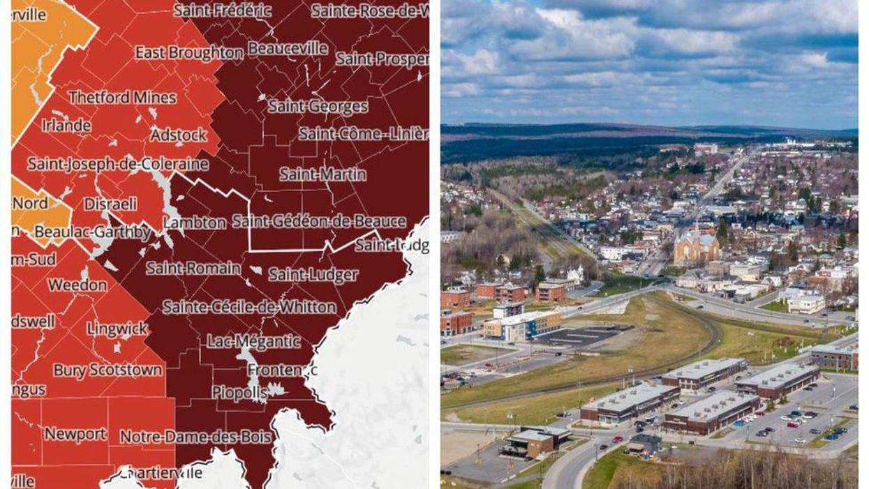 Ces secteurs du Québec changent de zone et voici quand les réouvertures auront lieu