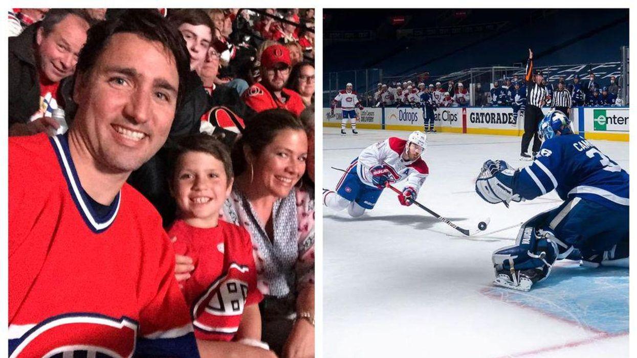 Leafs Vs. Habs Playoff Series Has Trudeau Roasting Toronto
