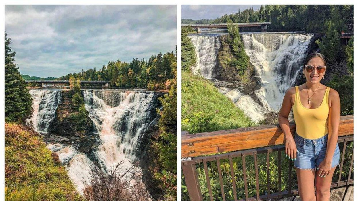 This Ontario Waterfall Is So Massive It's Known As 'The Niagara Of The North'