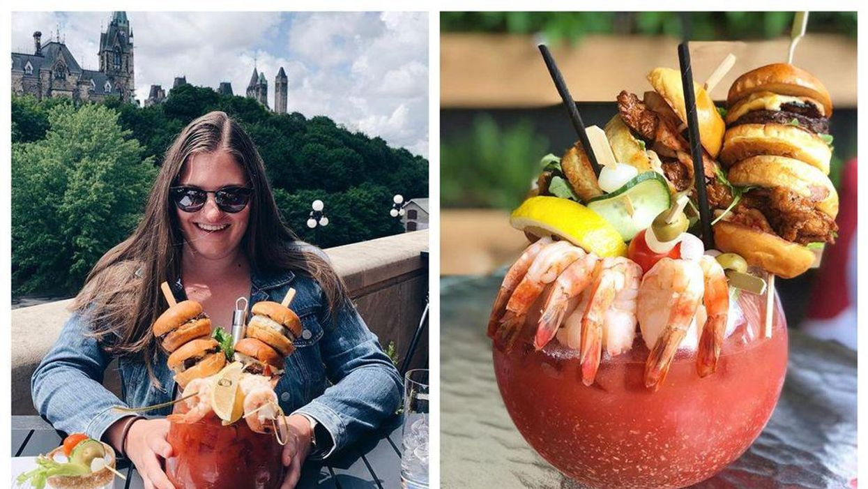 These Ottawa Cocktails Are So Giant You'll Need A Friend To Finish Them