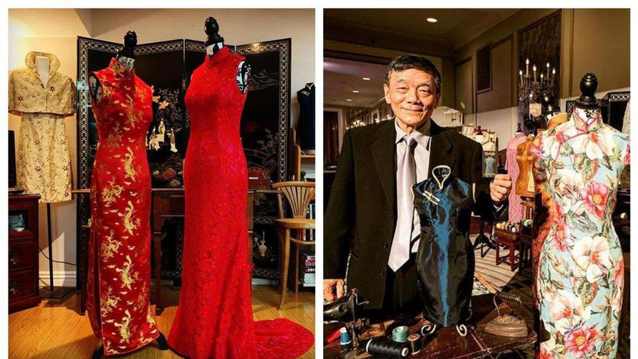 We Spoke To A Hong Kong-Canadian Family About Cheongsam Tailoring & The Art Is So Inspirational