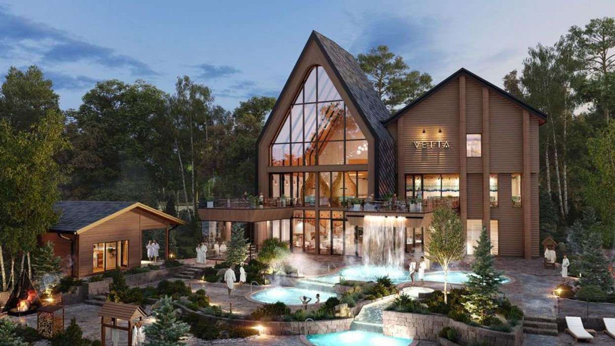A Stunning Nordic Spa Is Opening Near Toronto Soon & It's Like A Trip To Finland (PHOTOS)