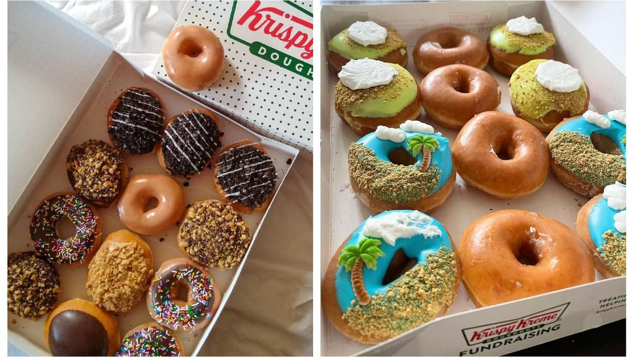 Krispy Kreme Is Giving Away Free Donuts Across Canada This Friday