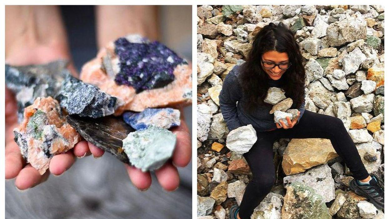 Ontario's Glimmering Rock Farm Is Reopening This Month & You Can Hunt For Colourful Gems