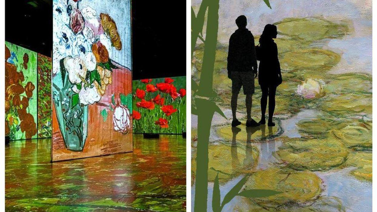 L'exposition immersive « Imagine Monet » débarque en primeur à Montréal