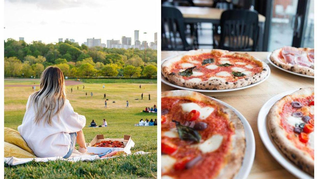 You Can Have An Italian Feast Delivered To You At This Toronto Park At Sunset