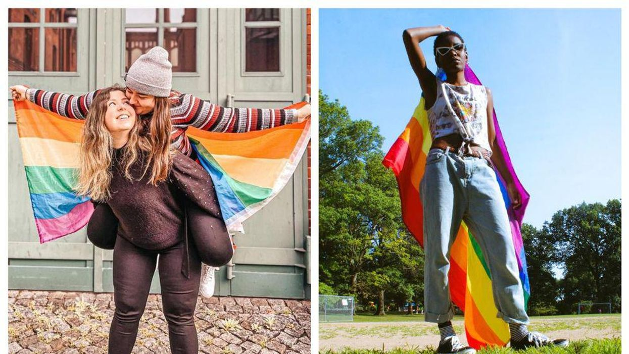 8 Colourful & Creative Ways Canadians Can Celebrate Pride At Home This Year