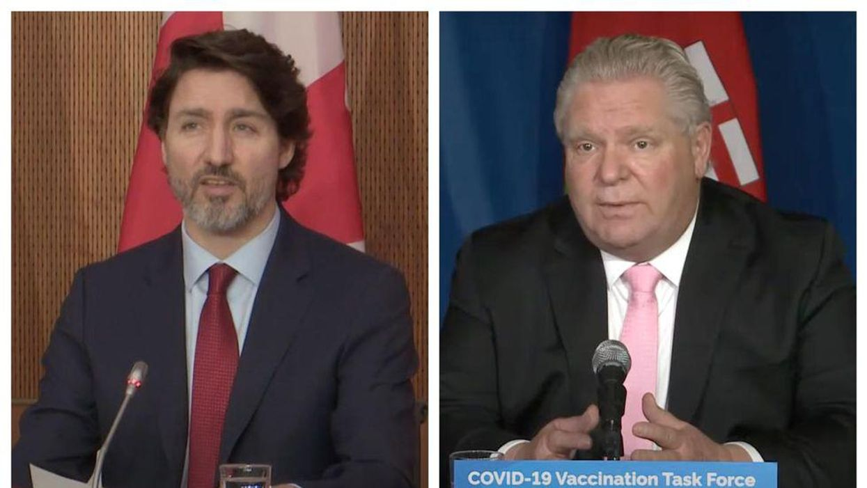 Trudeau & Doug Ford Can't Stop Arguing & Here's How It Began