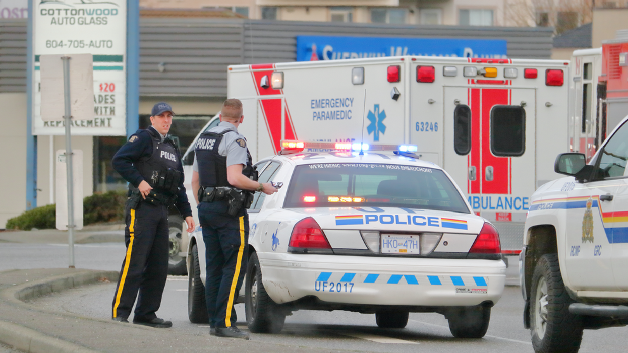 An Intense BC Police Chase Ended In Gunfire & A Child Was Injured