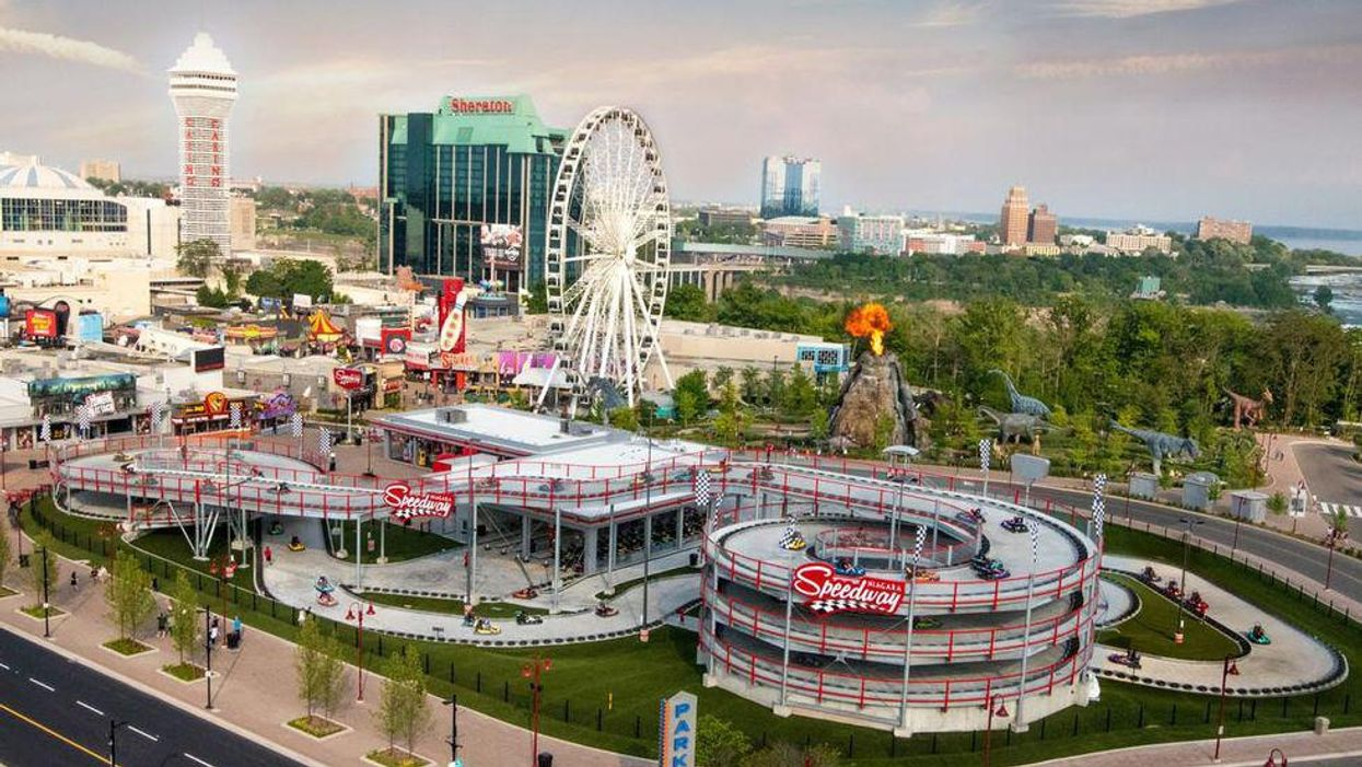 Niagara's Multi-Level Racetrack Is Reopening & You Can Speed Around Like You're Mario