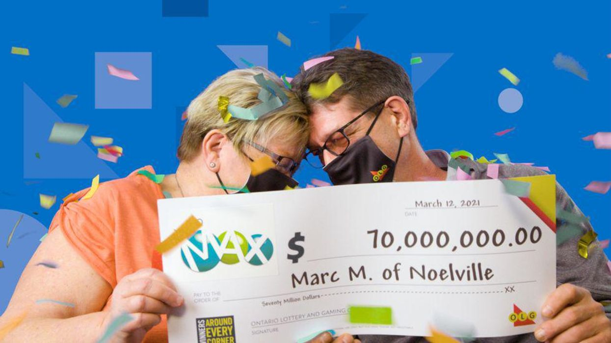 Canada's Biggest Lottery Winners Include First Time Players & Grocery Clerks