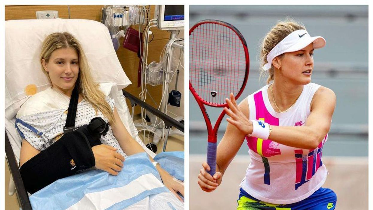 Eugenie Bouchard Had Major Surgery & Says She Has A 'Tough Road' To Recovery Ahead