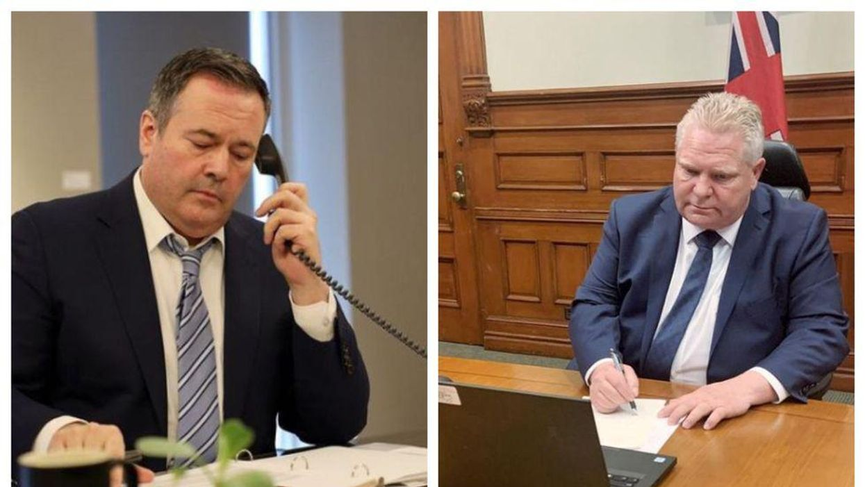 Jason Kenney & Doug Ford Are Losing Fans Fast Due To The Way They're Handling The Pandemic