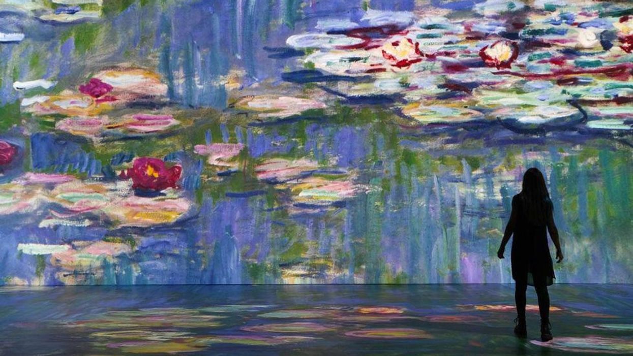 A Spectacular Monet Exhibit With Glowing Projections Is Coming To Toronto This Summer