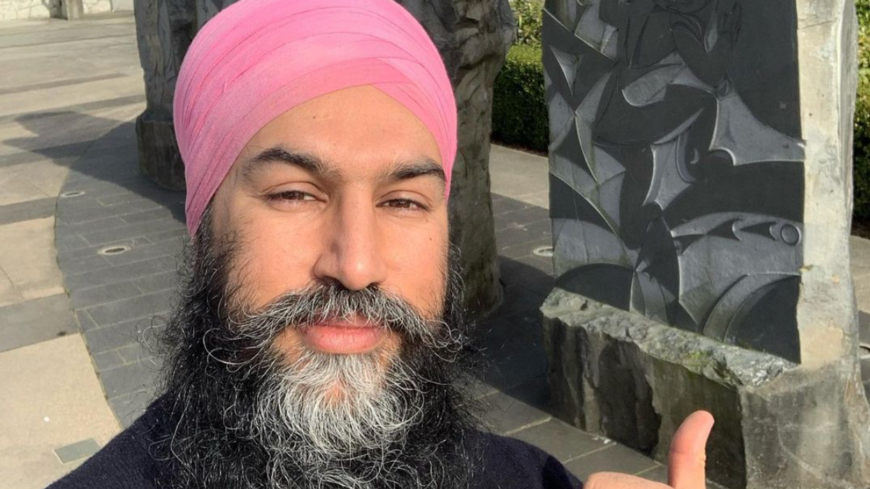 Jagmeet Singh Was Totally Hyping Up Canada During 'Among Us' With Alexandria Ocasio-Cortez