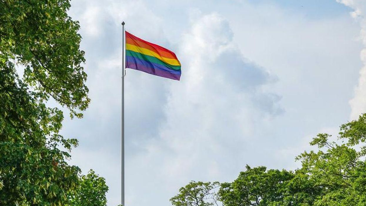 Peel Police Are Investigating A Video That Allegedly Shows Students Burning A Pride Flag