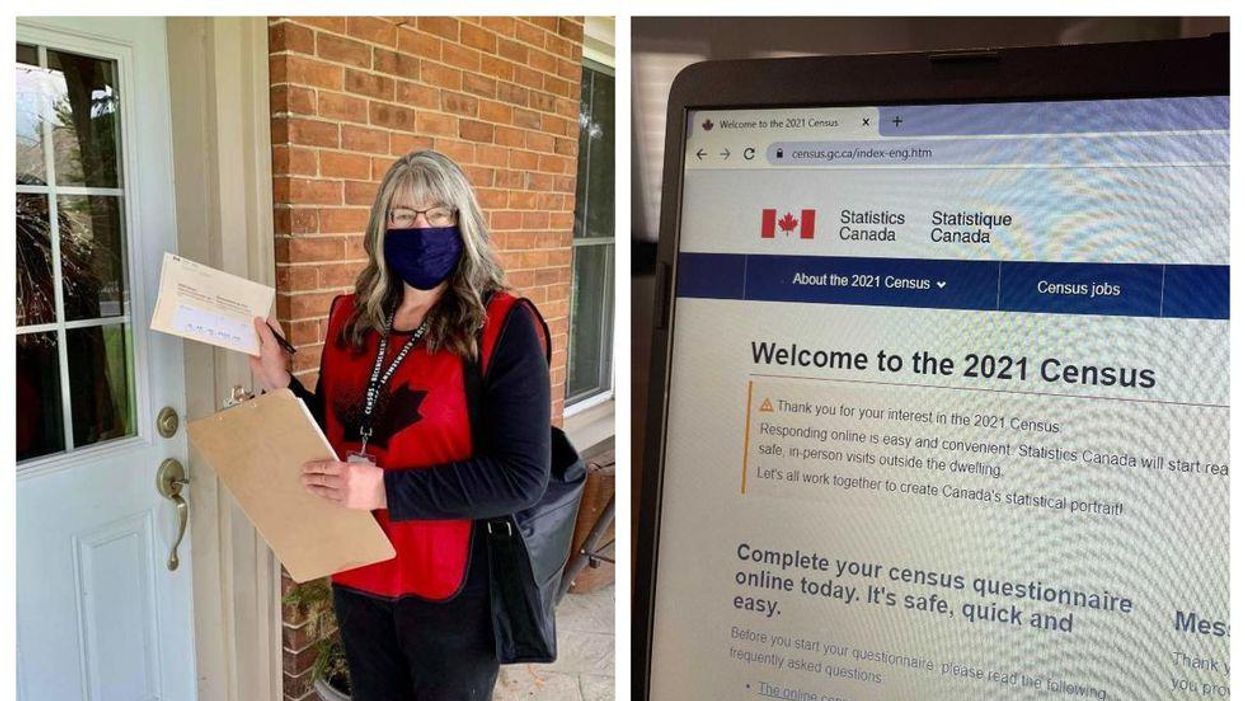 Canada's Census For 2021 Has Workers Knocking On Doors Now
