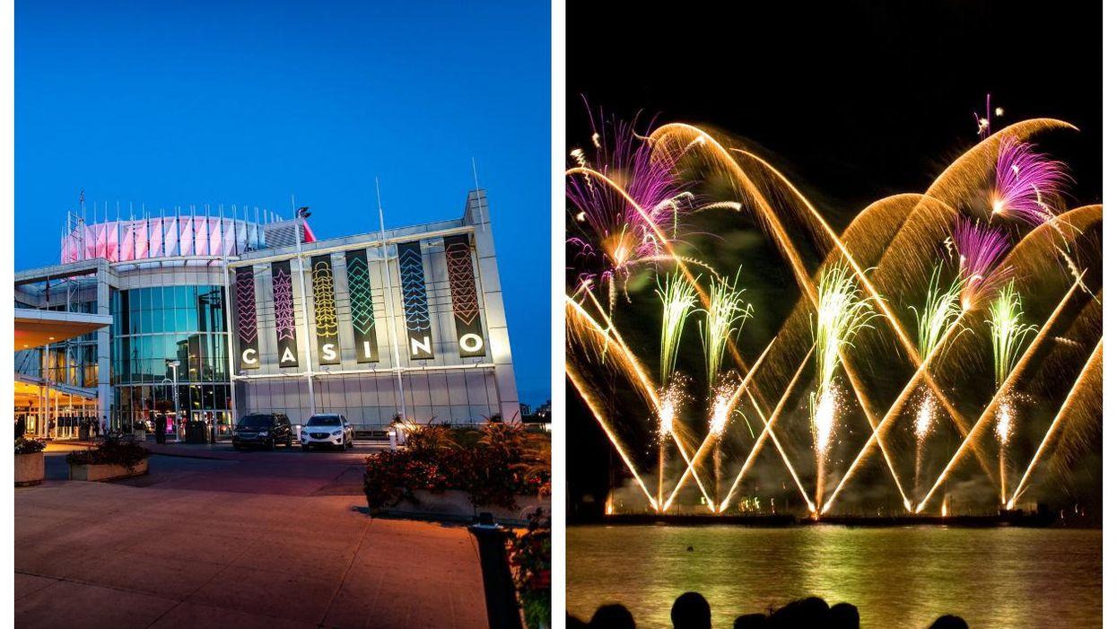 Des spectacles de feux d'artifice auront lieu à 2h de Montréal cet été