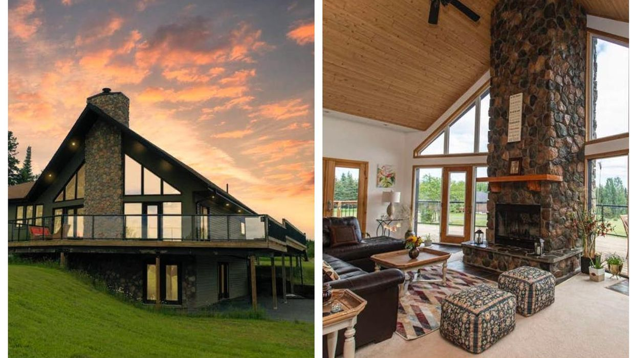 Ontario Home For Sale Has Major Swiss Alps Vibes