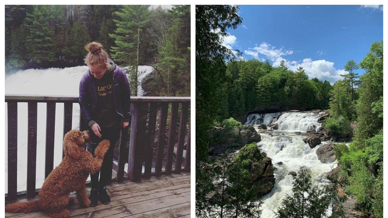 Ces chutes près de Montréal sont parfaites pour aller promener ton chien