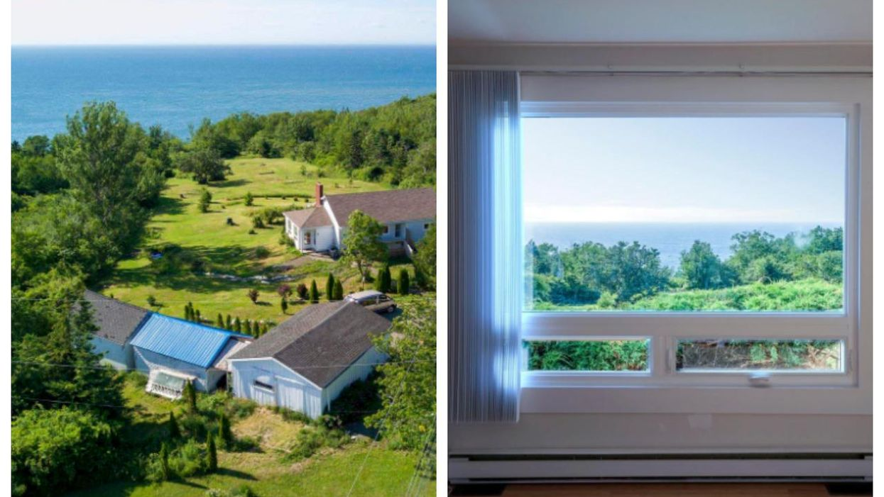 House For Sale In Nova Scotia Is So Cheap & Has A Full-On Oceanside Golf Course For A Yard